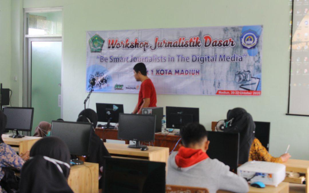 Jurnalis MAN 1 Kota Madiun Ikuti Workshop Jurnalistik Dasar