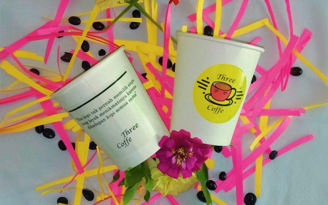 Three Coffe – Desain Kemasan