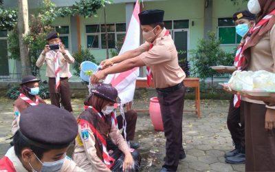 Pengurus Dewan Ambalan Pramuka MAN 1 Kota Madiun Laksanakan Sertijab