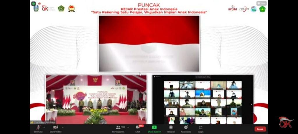 Siswa MAN 1 Kota Madiun Ikuti Puncak Kejar Prestasi Anak Indonesia secara Virtual